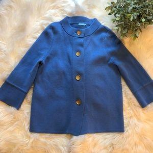 J. McLaughing Button-Down Blazer Jacket